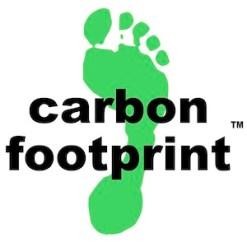 Carbon footprint logo