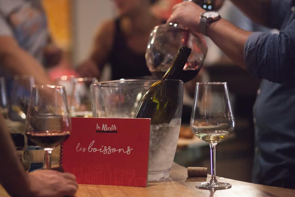restaurant bar à vins à boujan sur libron près de béziers