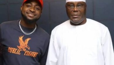 Atiku Declares Davido King