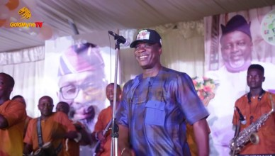 K1 De Ultimate Live Performance At Femi Gbajabiamila's Victory Party