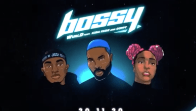 WurlD – Bossy Ft. Kida Kudz, Cuppy