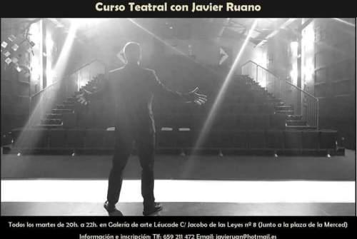 Comienzan las clases de teatro de la mano de Javier Ruano