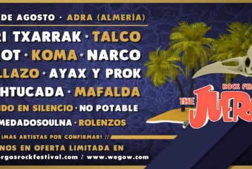 El Juergas 2019 llenará de Rock, Punk y Ska las tierras de Adra