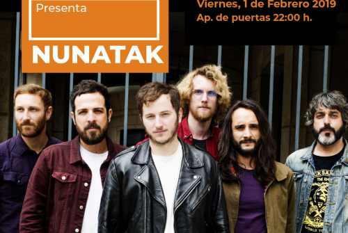 Nunatak presenta Nunatak y el Tiempo de los Valientes en Murcia.