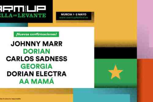 Johnny Marr, Dorian y Carlos Sadness, se unen al Warm Up 2020