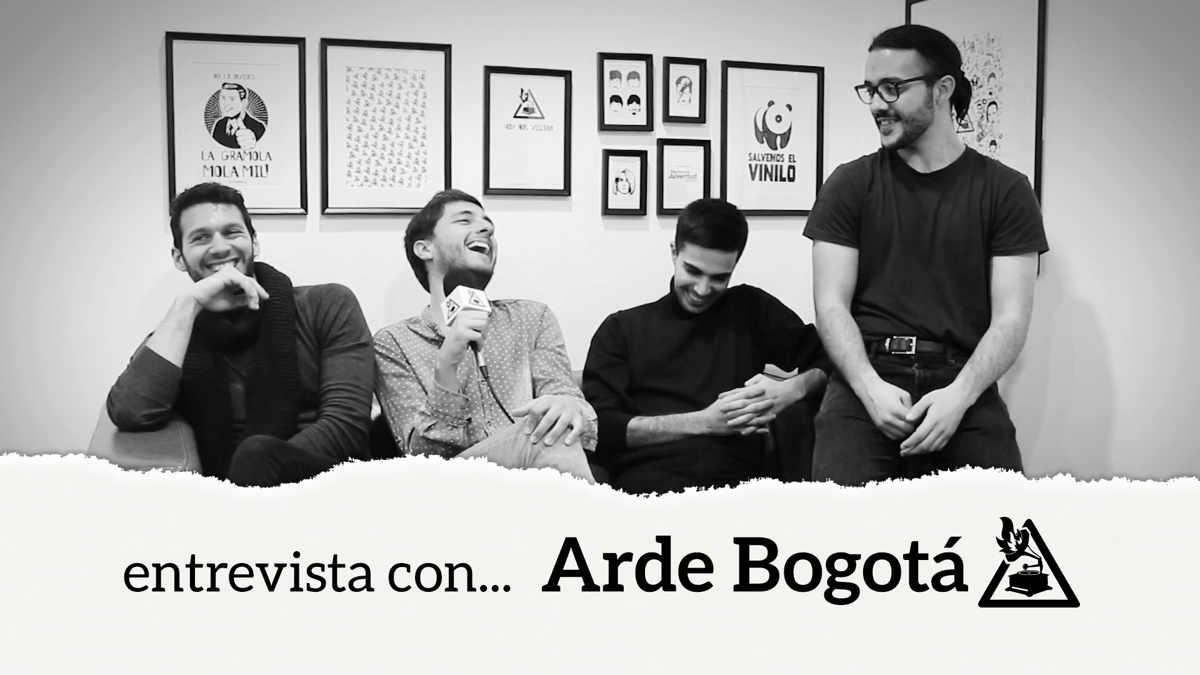 Entrevista con Arde Bogotá