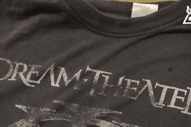 Mi camiseta de los Dream Theater (porque todo no es de usar y tirar)