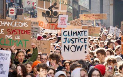 G pour Grève Scolaire pour le Climat