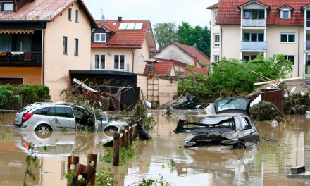 Le rechauffement climatique change le calendrier des inondations en Europe