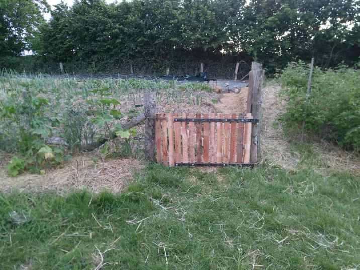 new potager gate