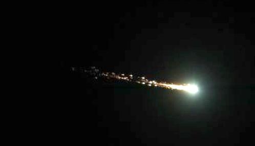 Asteroide recién descubierto desata una alerta y 12 horas después impacta nuestra atmósfera
