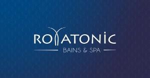 Signature logo Royatonic bains & spa partenaire de la grange des puys à Royat