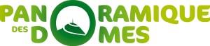 Signature logo Panoramique des Dômes partenaire du gîte location de vacances la grange des puys à Orcines à 10mns du puy de Clermont-Ferrand
