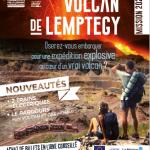 Oserez-vous embarquer pour une expédition explosive au coeur d'un vrai volcan à saint ours les roches à 10mns du gîte la grange des puys