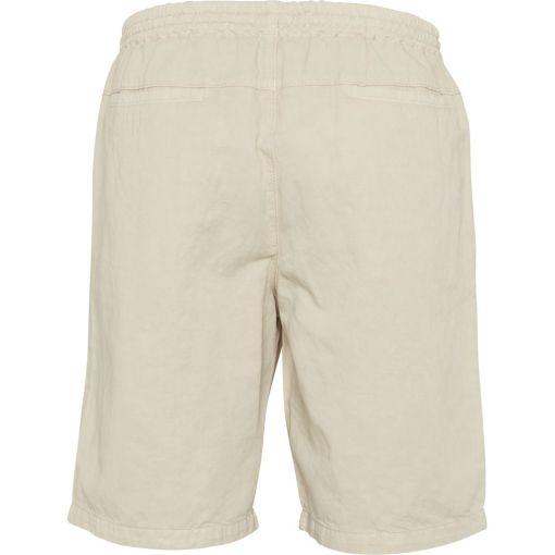 short homme lin et coton bio