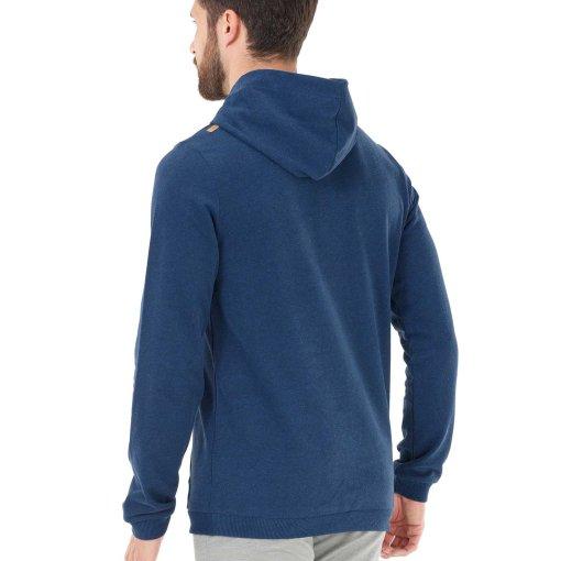 sweat à capuche bleu pour homme picture