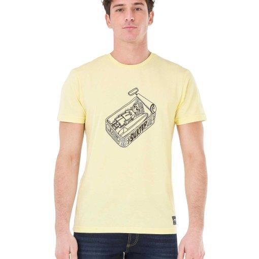 tshirt jaune homme picture coton biologique