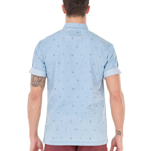 chemise manche courte homme picture