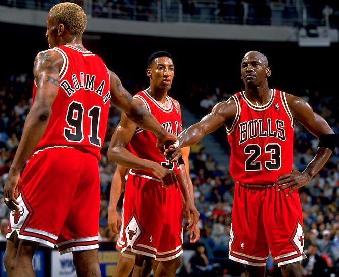 Le triangle d'or des Chicago Bulls