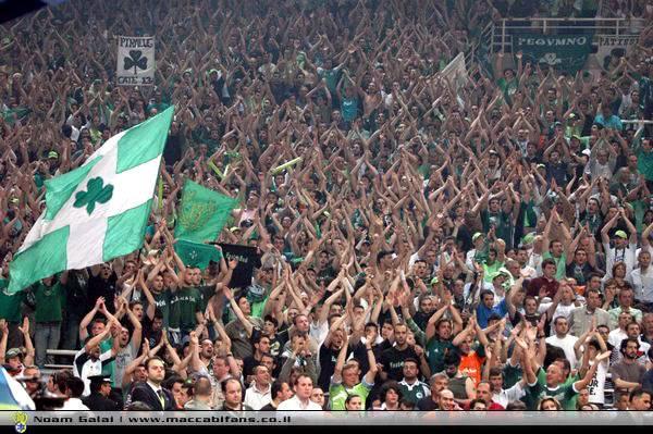 La folle passion des fans du Panathinaikos