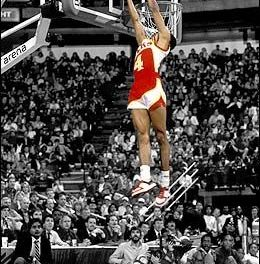 Slam dunk contest 1986 : Et Spud Webb s'envola…