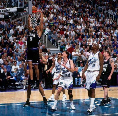 Au dunk avec les Kings