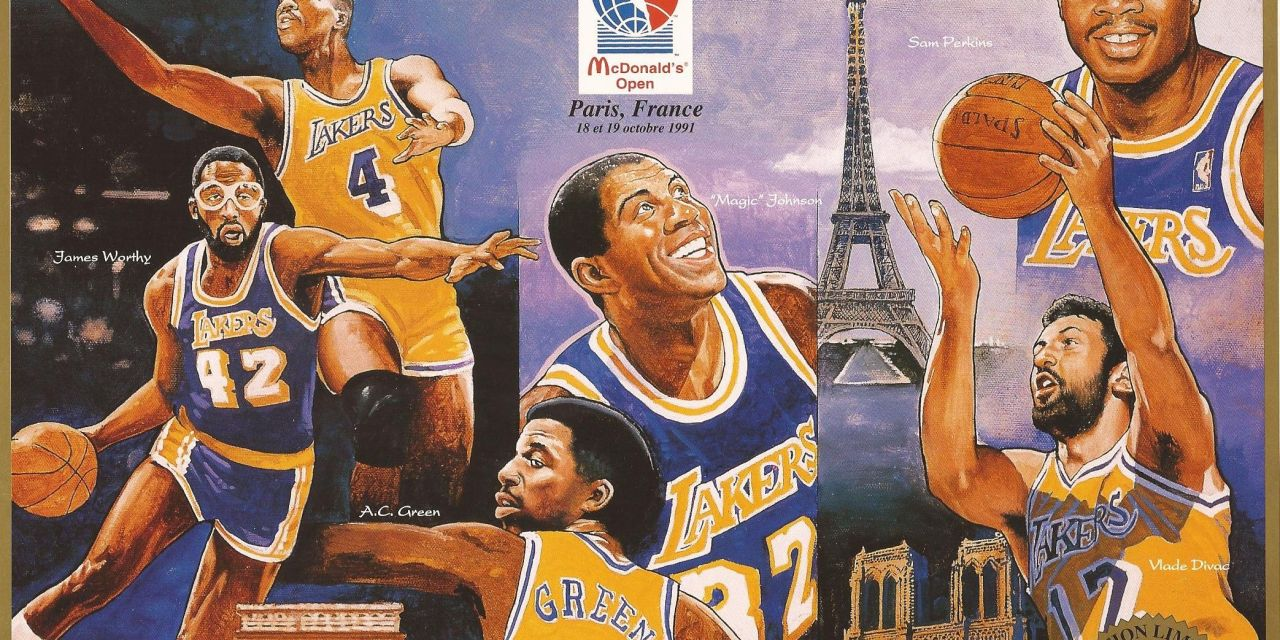 Open McDonalds 91 : Les Lakers à Paris