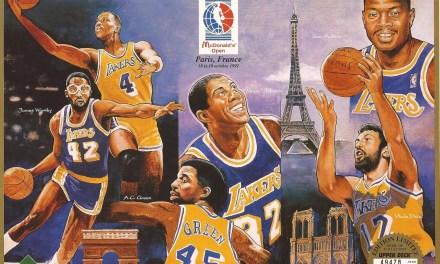 Open McDonalds 91 : Les Lakers à Paris