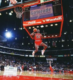 Jordan slam dunk contest