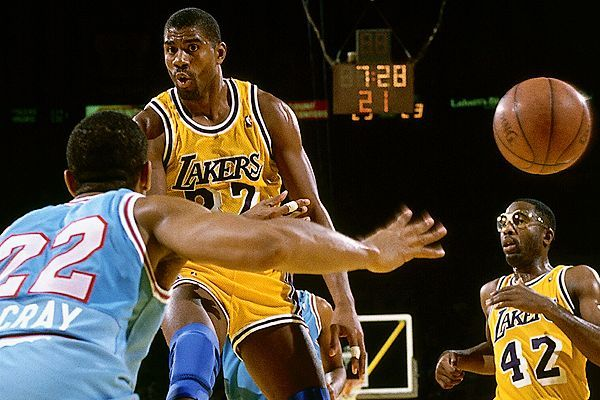 Les plus belles passes de Magic Johnson