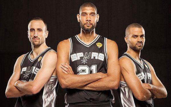 Les 3 amigos des Spurs dans l'histoire
