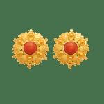 Fancy Coral Earrings