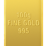 Gold Coin 100 Gm 995
