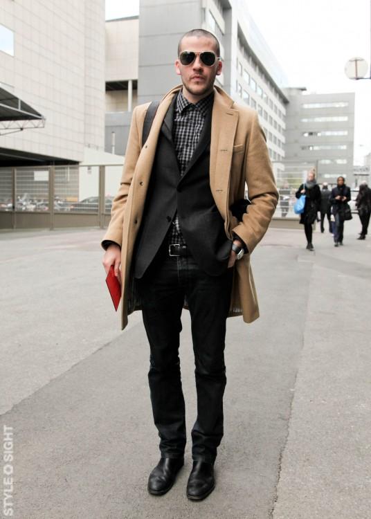 abrigo hombre