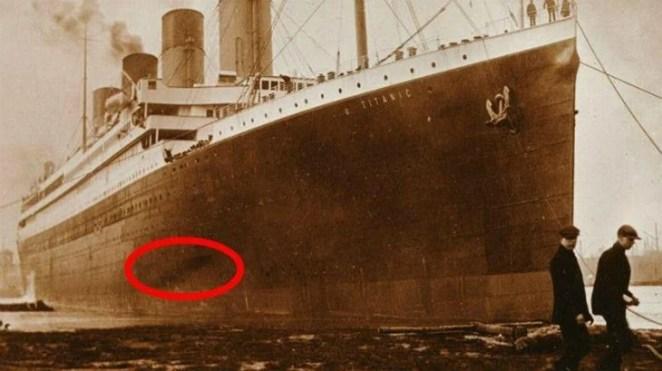 Incêndio anterior no Titanic