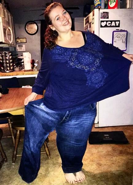 Lexi perdió la mitad de su peso