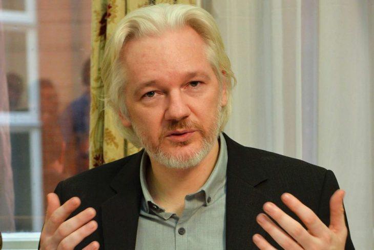 Julian Assange habla