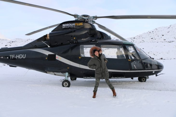 helicoptero islandia