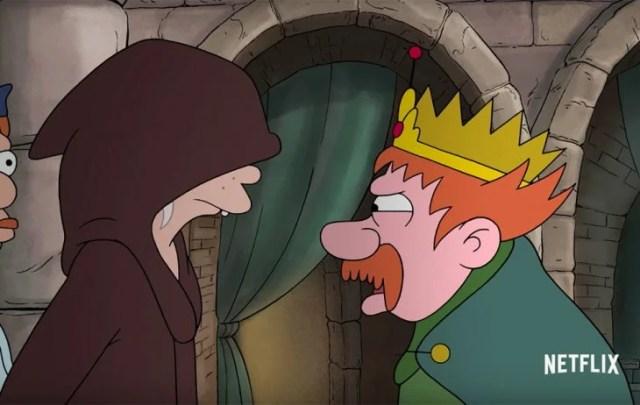 rey y princesa