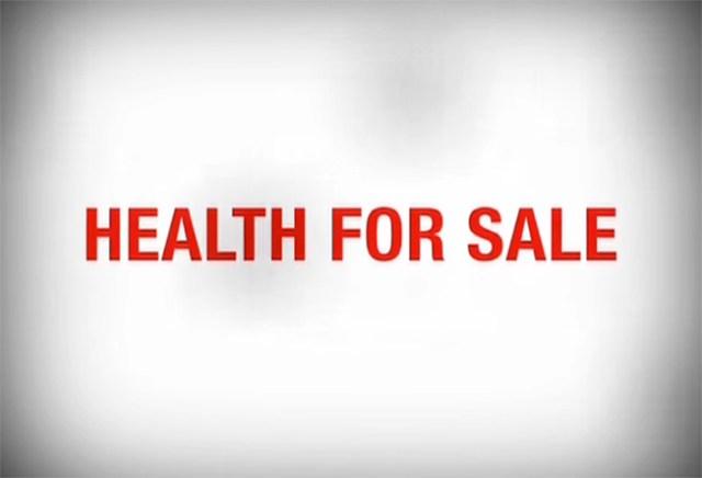 Salud a la venta