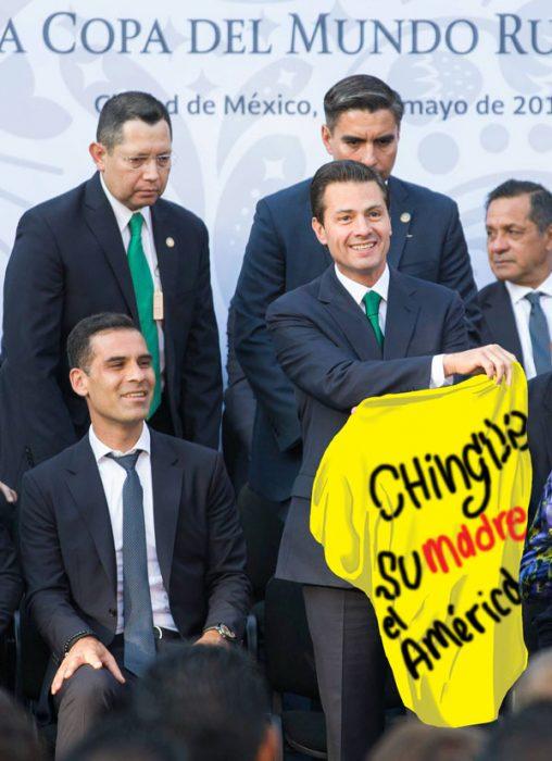 Peña Nieto en Photoshop