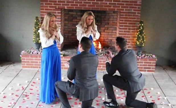 Doble propuesta de matrimonio