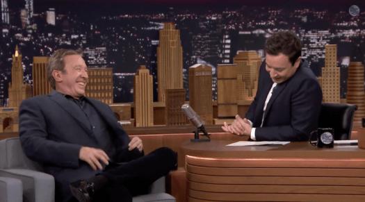 Tim Allen con Jimmy Fallon
