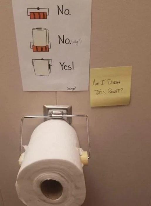 agentes del caos papel higiénico