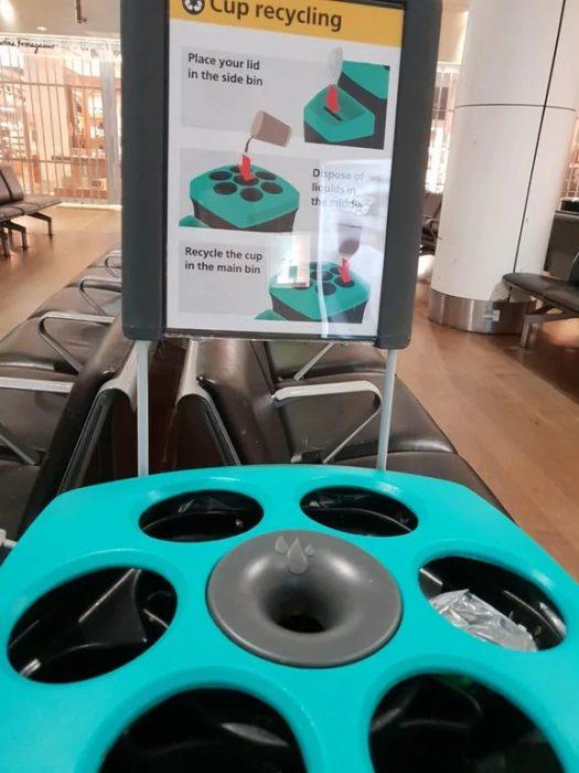 Inventos útiles bote reciclaje
