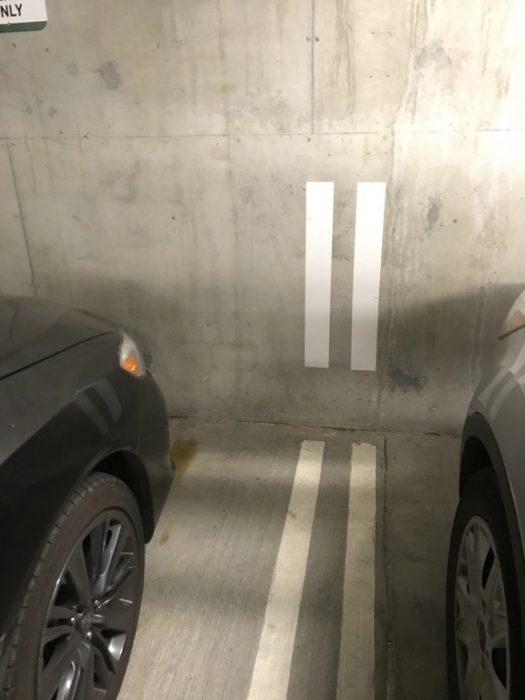 Inventos útiles líneas estacionamiento