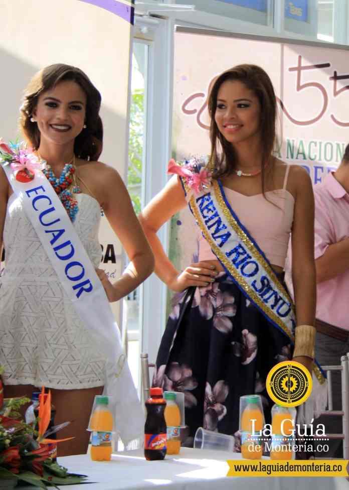Candidatas al reinado de la Ganadería Montería 2015