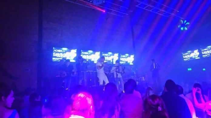 Camilo Molina junto a Camilo Ramos en Agora club
