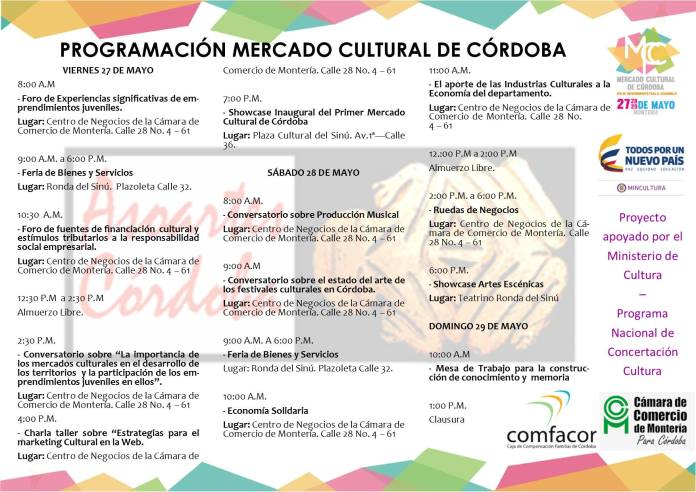 programación del mercado cultural de córdoba