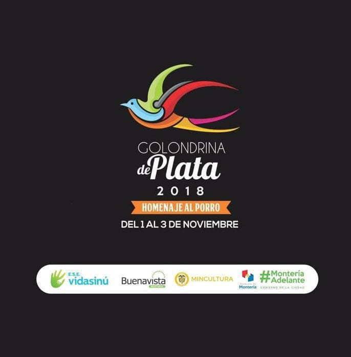 Programación festival golondrina de plata 2018 Montería